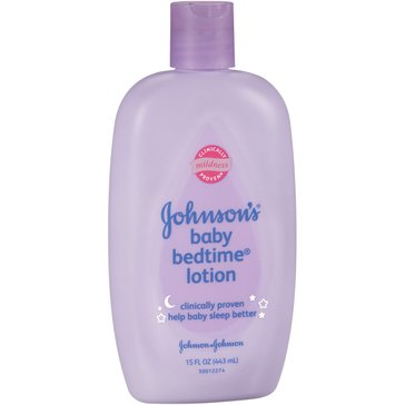 Johnson's Baby Bedtime Lotion, Lavender and Chamomile 15oz