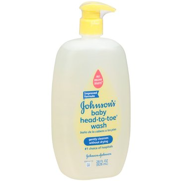 Johnson's Head-to-Toe Baby Wash 28oz