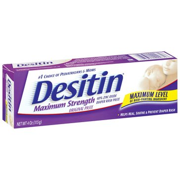 Desitin Maximum Strength Original Diaper Rash Ointment 4oz