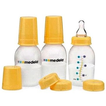 Medela 5oz Breast Milk Bottles, 3-Pack