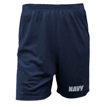 Soffe Youth USN Liquid Silver PT Shorts