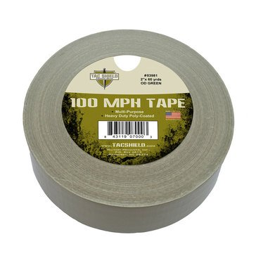 Tac Shield 100 Mph Heavy Tactical Duty Tape, 60 Yards