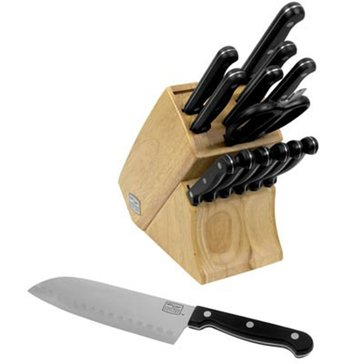 Chicago Cutlery Essentials 15-Piece Cutlery Block Set