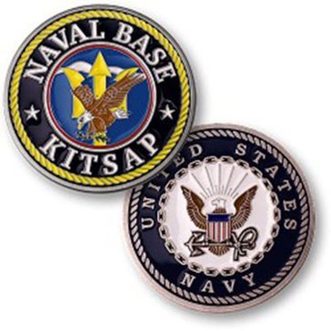 Northwest Territorial Mint USN Naval Base Kitsap Coin