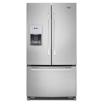 Whirlpool 20-Cu.Ft. Counter-Depth French Door Refrigerator, Stainless Steel (GI0FSAXVY)