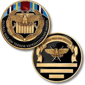 USN Expeditionary Medal Coin