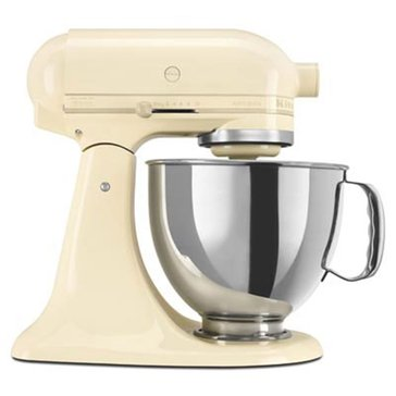 KitchenAid Artisan Series 5-Quart Tilt-Head Stand Mixer - Almond (KSM150PSAC)