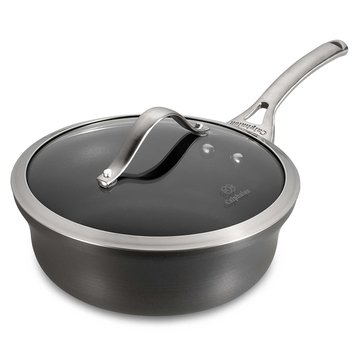 Calphalon Contemporary 2.5 Quart Nonstick Shallow Saucepan With Cover