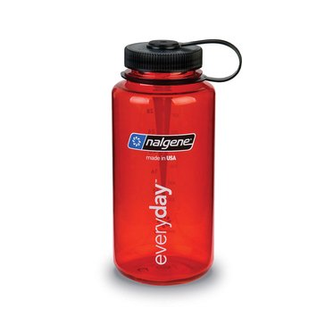 Nalgene 32 Oz. Tritan Wide Mouth Bpa-Free Water Bottle - Red