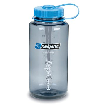 Nalgene 32 Oz. Tritan Wide Mouth BPA-Free Water Bottle - Gray