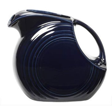 Fiesta Large Disk Pitcher, Cobalt