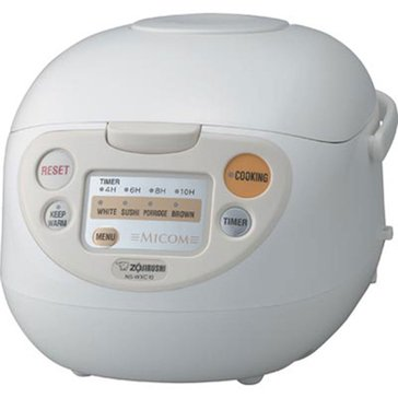 Zojirushi Micom Rice Cooker & Warmer (NS-WXC10)