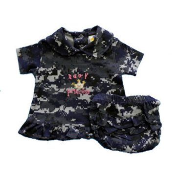 Trooper USN Digital Camo Princess Dress