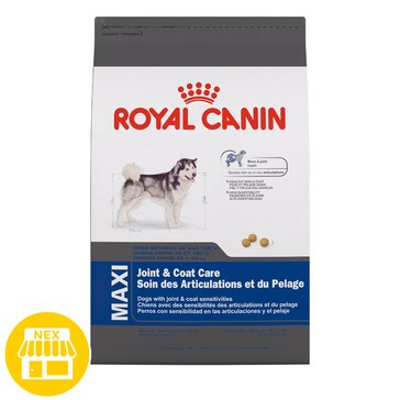 Royal Canin Maxi Joint & Coat Care Dry Dog Food, 30 lbs.