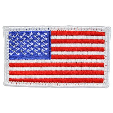 Eagle Crest USN American Flag with Patch