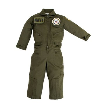 Trooper Child Navy Velcro Patch Flight Suit
