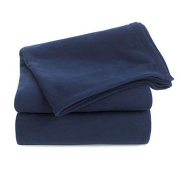 Berkshire Fleece Blanket, Navy - King