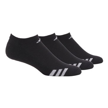adidas 3-Pack No Show Climalite Cushion Socks