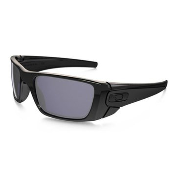 Oakley Men's Fuel Cell Sunglasses OO9096-01, Polished Black/ Grey 60mm