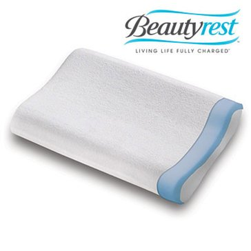 Beautyrest Cool Contact Contour Memory Foam Pillow
