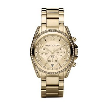 Michael Kors Women's Blair Gold-Tone Stainless Steel Bracelet Watch 39mm