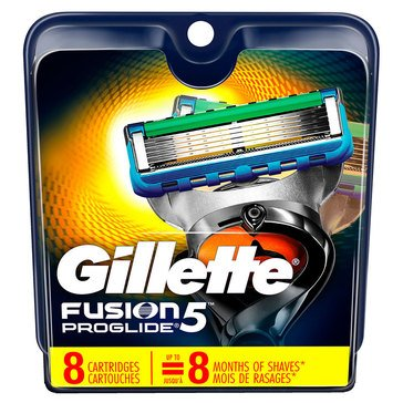 Fusion 5 Proglide 8ct Cartridges
