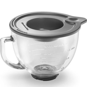 KitchenAid 5-Quart Glass Mixing & Measuring Bowl For Tilt-Head Stand Mixer (K5GB)