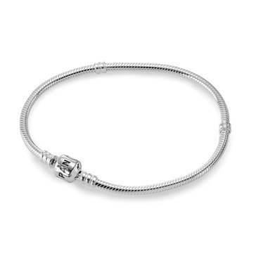 Pandora Iconic Silver Charm Bracelet, Size 7.5in
