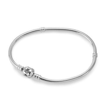 Pandora Iconic Silver Charm Bracelet, Size 7.9in