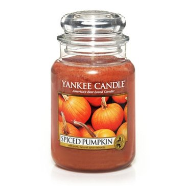 Yankee Candle Spiced Pumpkin Large Classic Jar
