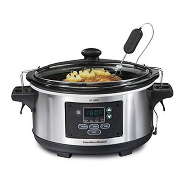 Hamilton Beach Set & Forget 6-Quart Programmable Slow Cooker (33969)