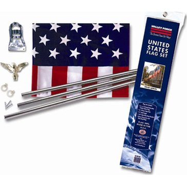 Valley Forge 3'x5' U.S. Flag Kit Poly/Cotton