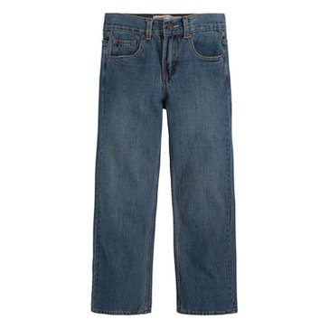 Levi's Big Boys' 550 Regular Jeans Clean Crosshatch, Size 11