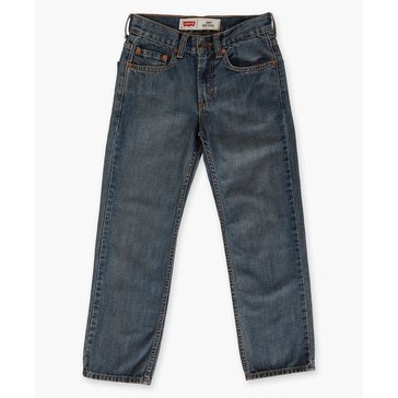Levi's Big Boys' 550 Regular Jeans Clean Crosshatch, Size 14