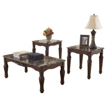 Signature Design by Ashley North Shore Occasional Table Set
