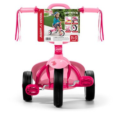 Radio Flyer Fold 2 Go Tricycle, Pink