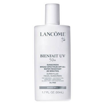 Lancome Bienfait UV SPF50+ Super Fluid Facial Sunscreen 1.7oz