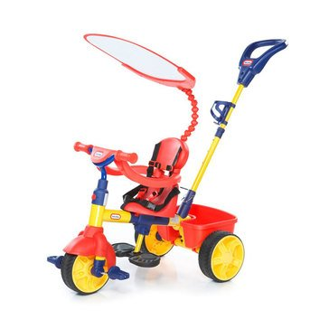 Little Tikes Perfect Fit 4-in-1 Tricycle, Red