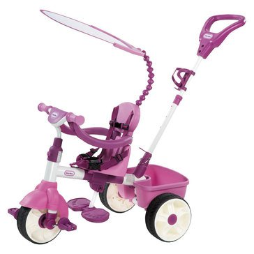 Little Tikes Perfect Fit 4-in-1 Tricycle, Pink