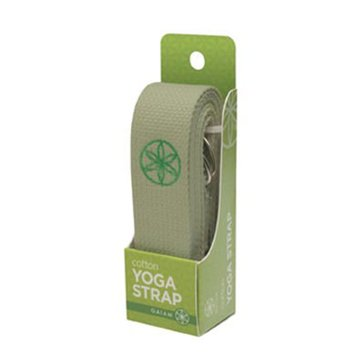 Gaiam 6' Organic Cotton Yoga Strap - Natural