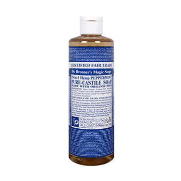 Dr. Bronner's Peppermint Castile Liquid Soap - 16oz.