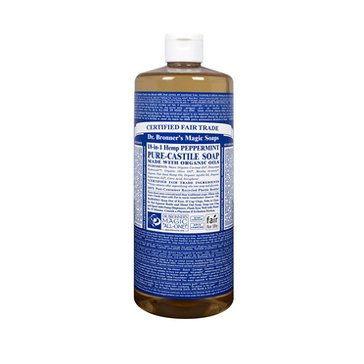 Dr. Bronner's Peppermint Castile Liquid Soap - 32oz.