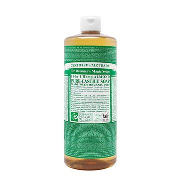 Dr. Bronner's Almond Castile Liquid Soap - 32oz.