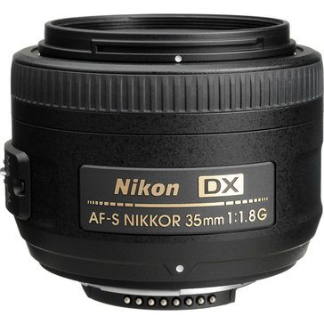 Nikon 35mm f/1.8G AF-S DX NIKKOR Lens for Nikon Digital SLR