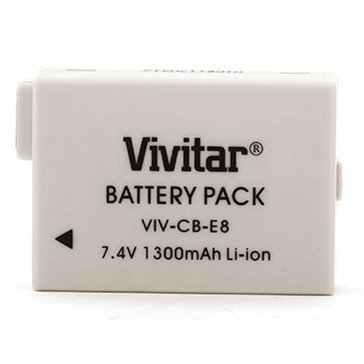 Vivitar VIV-CB-E8 Battery For Canon LP-E8