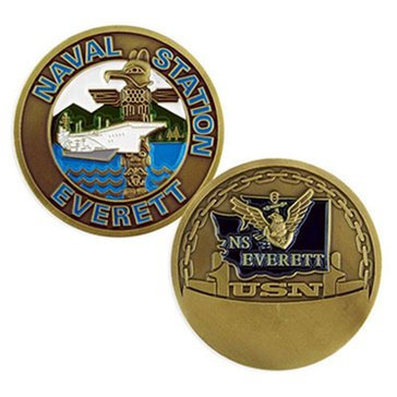 USN Naval Station Everett Coin