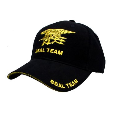 Eagle Crest USN SEAL Team Embroidered Cap