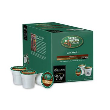 Green Mountain Coffee Dark Magic K-Cup Pods, 18-Count