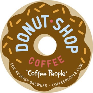 Coffee People Donut Shop Coffee K-Cup Pods, 18-Count