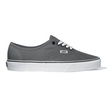 Vans Authentic Unisex Skate Shoe Grey/ White